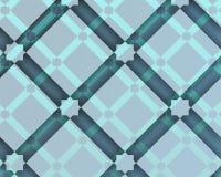Composition décorative arabe avec la place bleuâtre Photographie stock libre de droits