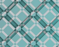 Composition décorative arabe avec la place et les ombres Image libre de droits