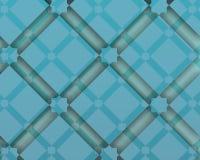 Composition décorative arabe eometric en GBluish Images libres de droits