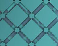 Composition décorative arabe géométrique blanche Photo stock