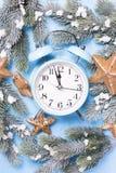 Composition décorative de Noël photos libres de droits