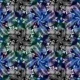 Composition décorative - Paisley sur un fond d'aquarelle watercolor Modèle dans le style ethnique Composition de fleur Flo stylis Images stock