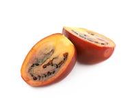Composition découpée en tranches en fruit de tamarillo Image libre de droits