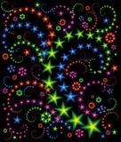 Composition d'étoile Images stock