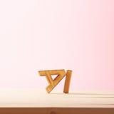 Composition d'amour des lettres Photographie stock libre de droits