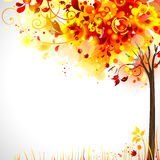 Composition d'automne illustration stock