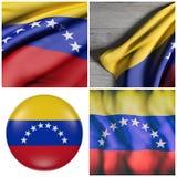 Venezuela flag waving Stock Photo