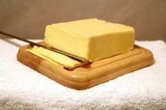 Composition de beurre Photo stock