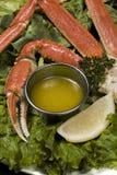 Composition de crabe Photographie stock