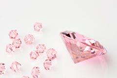 Composition de diamants Photo stock