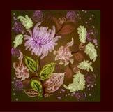 Composition de fleur de gare Image libre de droits