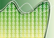 Composition de fond du dollar illustration libre de droits