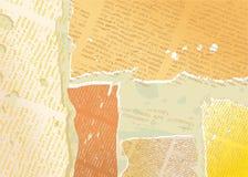 Composition de grunge de journal Photographie stock