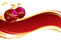 Composition de Noël Photo stock