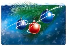 Composition de Noël illustration de vecteur
