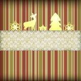 Composition de Noël Images libres de droits