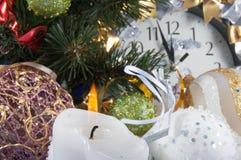 Composition de Noël Photo libre de droits