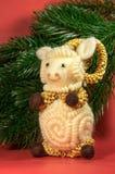 Composition de Noël Symbole de 15 nouvelles années Images libres de droits
