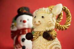 Composition de Noël Symbole de 15 nouvelles années Photographie stock