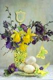 Composition de Pâques Photo stock