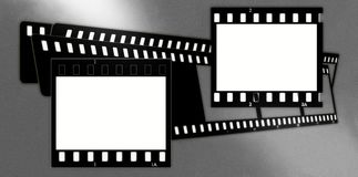 Composition de trames de film (chrome, mous) (glissières) 2 Photo stock