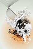Composition de vecteur d'ange illustration de vecteur