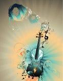 Composition de vecteur de violon illustration de vecteur