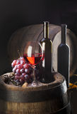 Composition de vin Images stock