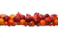 Composition des fruits de rouge d'agrume image stock