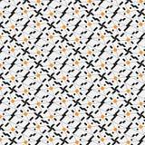 Composition des lignes forme noire et jaune Photographie stock libre de droits