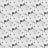 Composition des triangles et de la ligne mince Image libre de droits