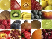 Composition of different fruit Stock Photo