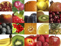 Composition of different fruit Royalty Free Stock Images