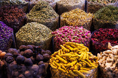 Composition with different spices Stock Image