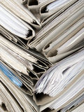 Composition of documents Stock Images
