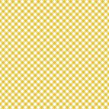 Smooth Gingham Seamless Pattern. Smooth diagonal light orange and white classic gingham texture royalty free illustration