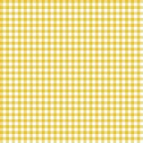 Smooth Gingham Seamless Pattern. Smooth light orange and white classic gingham texture stock illustration