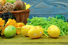 The composition of Easter. Royalty Free Stock Images