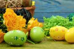 The composition of Easter. Stock Photo