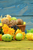 The composition of Easter. Stock Photography