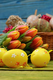 The composition of Easter. Royalty Free Stock Photo