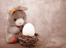 Composition  for Easter Royalty Free Stock Photography