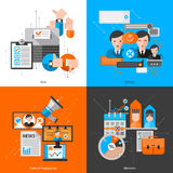 Composition 2x2 For Elections Voting. Report and presentation or website vector illustration vector illustration