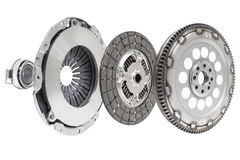 the composition of the elements of car repair kit clutch manual royalty free stock images