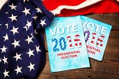 Composition en élection présidentielle Images libres de droits