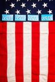Composition en élection présidentielle Images stock