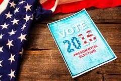 Composition en élection présidentielle Photos stock