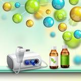 Composition en amélioration de santé de molécules illustration libre de droits