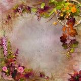 Composition en automne illustration de vecteur