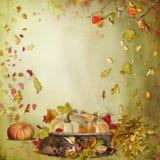 Composition en automne illustration libre de droits